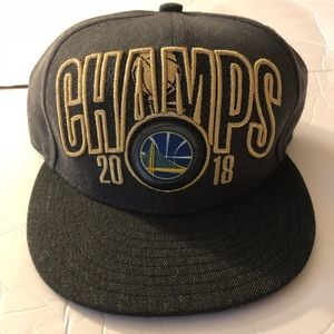 Golden State Warriors 2018 NBA Champions Hat